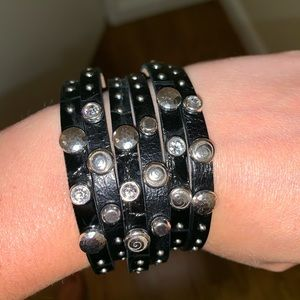 Brighton Leather Studded Bracelet